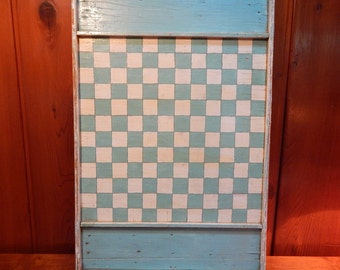 Antique Handmade Game Board