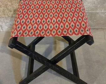 Upcycled Folding Stool