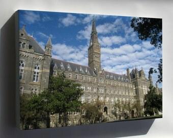 Canvas 24x36; Georgetown University 27