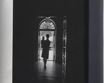 Canvas 16x24; Jackie Kennedy And John F. Kennedy, Jr. First Lady And