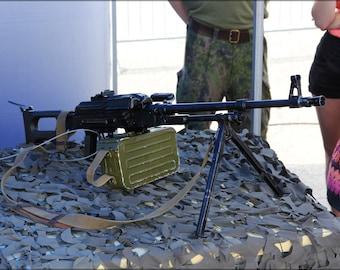 16x24 Poster; 7,62 Kk Pkm Machine Gun