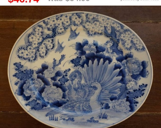 Blue & White Asian Platter