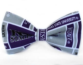 Kansas State Wildcats Bow Tie