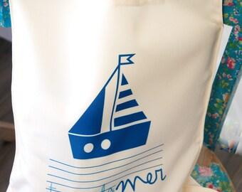 Tote bag gift mistress all at sea