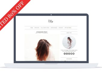 80% OFF - Fixie - Wordpress Theme - Premade - Self Hosted - Wordpress Blog Theme - Responsive