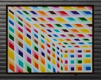 Geometric Room Limited Edition Print