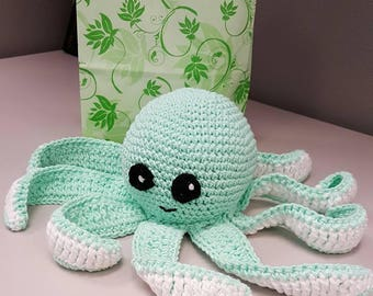 Cotton Yarn Octopus-baby safe