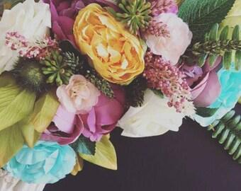 Corner flower embellishments !