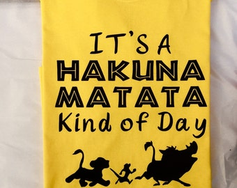 Animal Kingdom Shirt, Hakuna Matata shirt, Disney Family Shirt, Disney Family Shirts, Simba shirt, Disney shirt