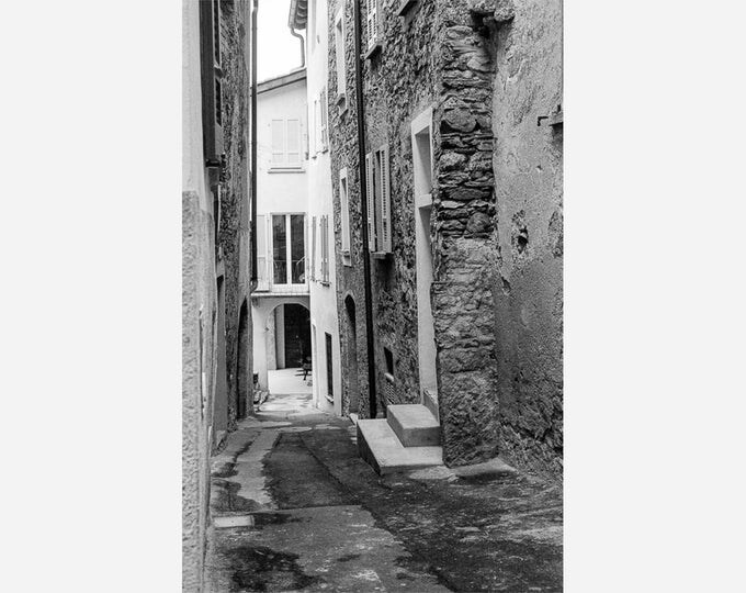 ROVIO SWITZERLAND STREETSCENE | modern fine art photography blank note cards custom books interior decor affordable pictures –Rick Graves