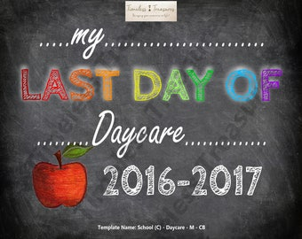 School (C) - My Last Day of Daycare