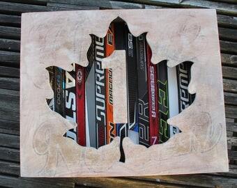 """Unyeilding: 22 x 18"""" Trans Canada Shadow Box"""