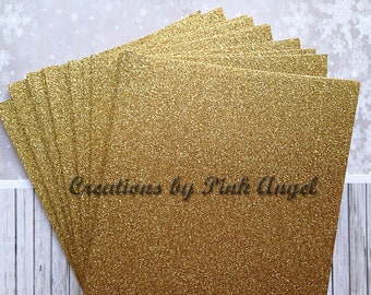 5x7 cardstock etsy set of 25 gold glitter cardstock sheets diy party or wedding invitations 5x7 glitter stopboris Gallery
