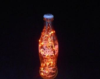 Diet Coke Bottle Light-amber