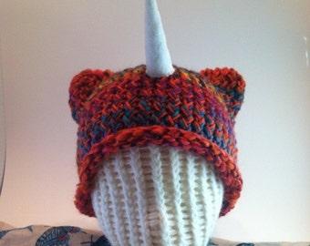 Knit Unicorn Hat