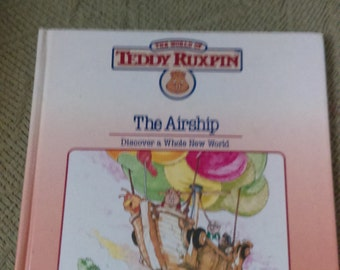Vintage teddy ruxpin book