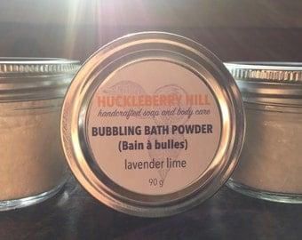Bubble Bath ~ Bubbling Bath Powder ~ 90g