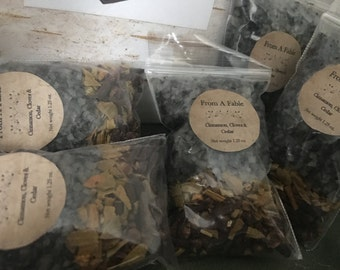 Cinnamon, Cloves & Cedar Bath Salts with Herb Blend, Organic