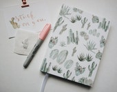 Cactus Journal / Diary HARD COVER