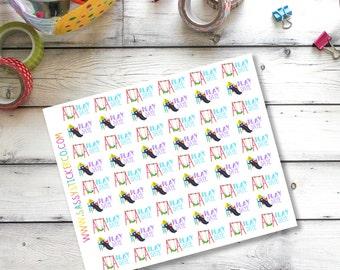 K2 Playground play date park kids activities planner stickers for Erin Condren Life Planner