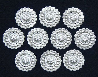 Small Hmong Round Flower Decoration