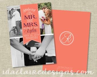 Elopement | Marriage Announcement