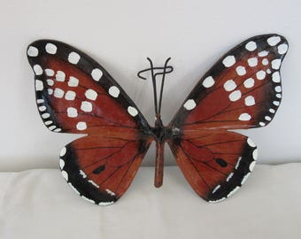 laquered paper butterfly