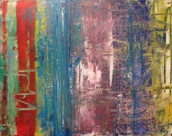 "12""x16"" Original Acrylic Abstract Paitning"