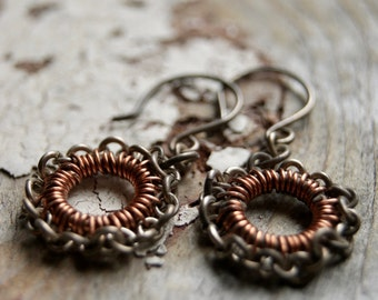 Chainmaille Lacy hoops