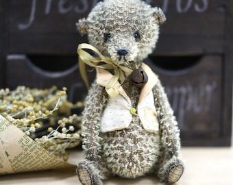 artist teddy bear ooak Mossy mohair teddy bear ooak toy plushies mohair bear artist bear