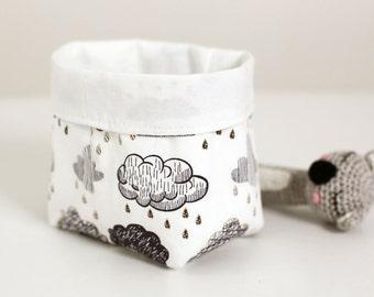 Small Cloud Nursery Storage Basket