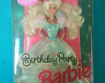 Mattel Birthday Party Barbie Doll Vintage Barbie Doll