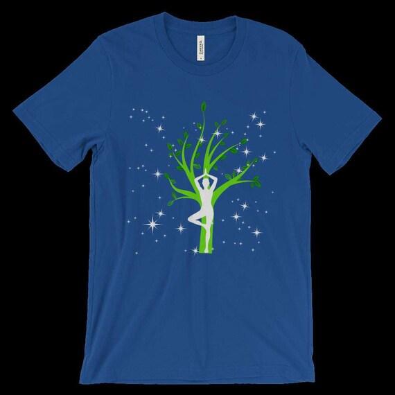 hot sale online b8de9 3bb4b 30%OFF Calm   Centered Unisex Short Sleeve Jersey Tee by WildsideShirts