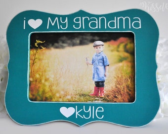 Mothers Day Gift Gift for Grandma Grandmother Gift Grandma Picture Frame Gift for Granny Grandmother Mothers Day Picture Frame 4x6 opening
