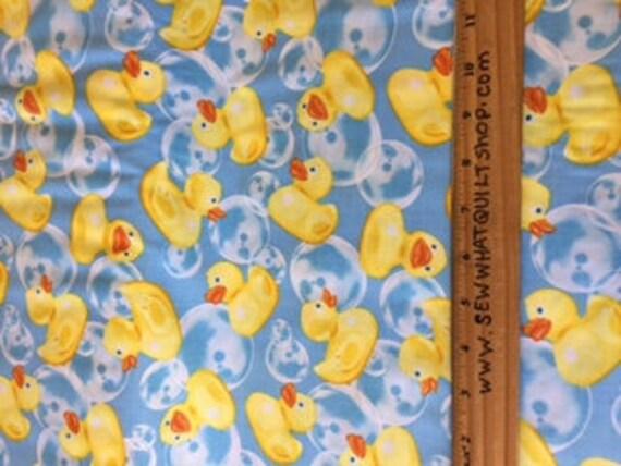 Rubber Ducks Fabric Rubber Ducky Fabric Timeless