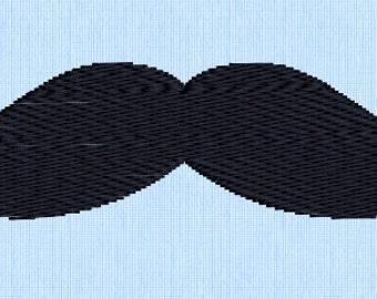 Sale *** Mustache Embroidery Design
