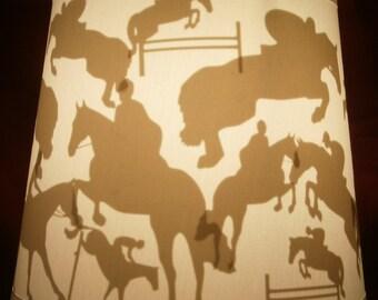 Hunter/Jumper Horse Lamp Shade
