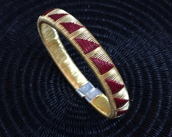 Golden Friendship Bracelet - Red Mountain