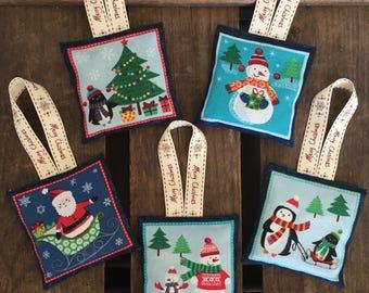 Winter Wonderland Christmas Lavender Sachet, Christmas decor, Christmas tree decoration, Christmas decoration