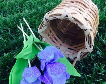 Fabric tulips. Price per one. Plus FREE gift-surprise!