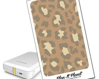 Jaguar Print Zip Mobile Printer Skin