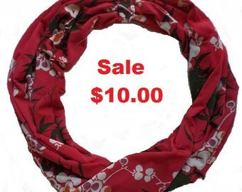 INFINITY SCARF-FREE organza storage bag included!-Gift idea under 10.00