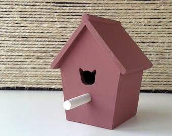 Small House for birds   Wooden Bird House   Grape