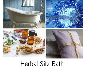 Herbal Sitz Bath, Herbal Bath, Postpartum Herbal Bath, Postpartum Bath