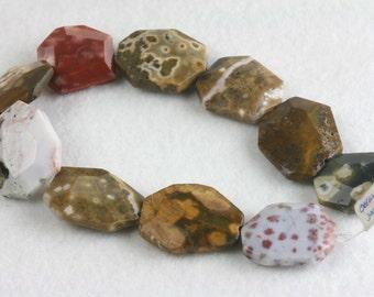 Ocean Jasper large beads