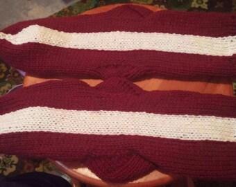 Latvia Womens flag socks big foot