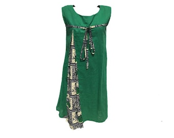African inspired girl's dress (coton/wax dress size 10) %50 off