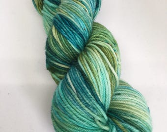 Worsted- Mother Earth - hand dyed yarn, canadian,