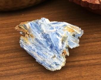Lovely Calming Raw Blue Kyanite Crystal Specimen