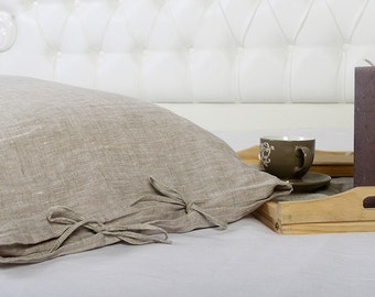 Linen DUVET COVER SET of duvet cover and pillowcases with ties. Eco linen bedding set. Twin, Twin xl, Full, Double,Quuen, King linen set